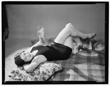 Image: Publicity photograph for Jantzen Swimwear