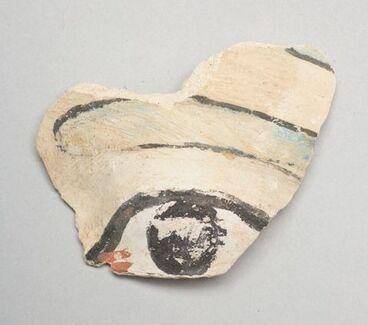 Image: Painted 'eye' fragment