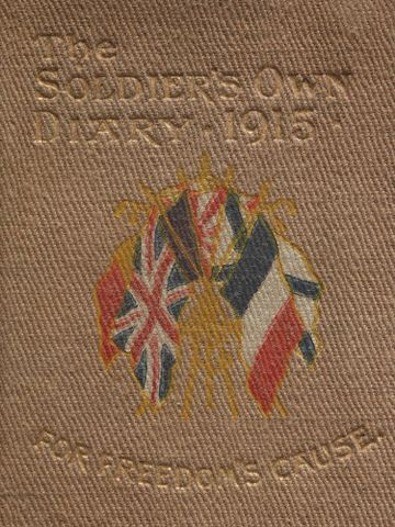 Image: 'The Soldier's Own Diary - For Freedom's Cause'