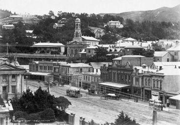 Image: Lambton Quay, Wellington