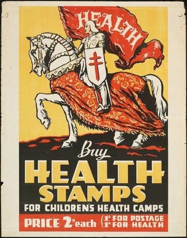 Image: Poster, 'Buy Health Stamps'