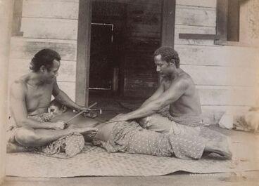 Image: Tattooing, Samoa