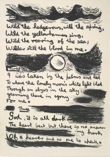 Image: Van Gogh. Poems by John Caselberg.