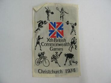 Image: Patch, 'Xth British Commonwealth Games'