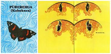 Image: 'Pūrerehua (Kahukura)' cover & spread