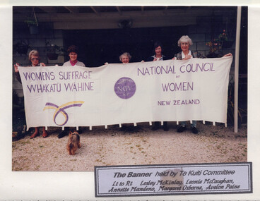 Image: Te Kuiti Committee, National Council of Women, 1993