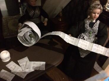 Image: Suffrage dolls house by Bronwyn Hayward