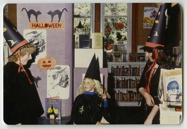 Image: Librarians as Witches