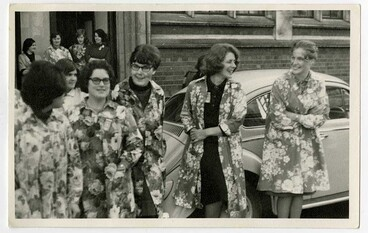 Image: Librarians in Smocks