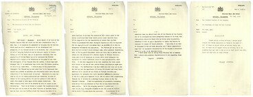 Image: Official Telegram re Earl of Liverpool, Governor