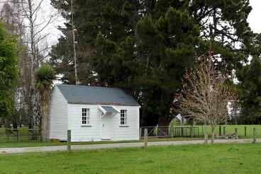 Image: Old house, Hoods Road, Mount Somers, Canterbury, New Zealand
