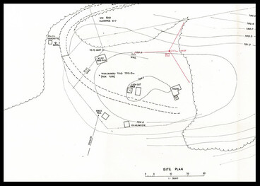 Image: Plan of Tokoroa Mobile Telephone Control Station (1975)