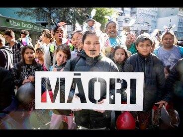 Image: Maori Language week parade in Wellington