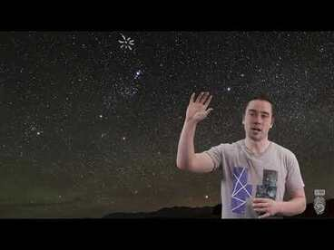 Image: How to find the Matariki star cluster