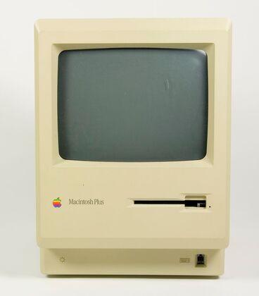 Image: Macintosh Plus monitor