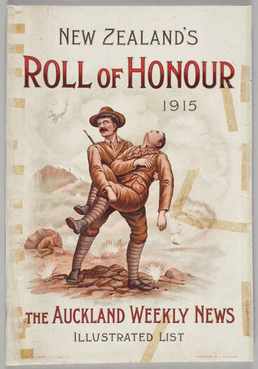 Image: New Zealand's Roll of Honour 1915 The Auckland Weekly News Illustrated List