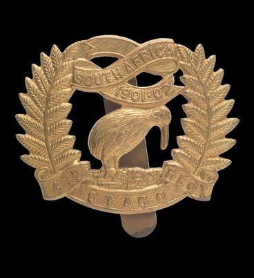 Image: Cap badge, 4th (Otago Rifles) Regiment