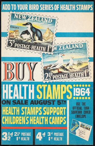 Image: Poster, 'Add To Your Bird Series Of Health Stamps'