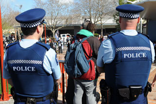 Image: First gang patch arrest in Wanganui