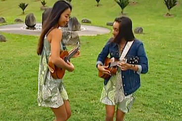Image: Ukelele festival gets star treatment in Auckland