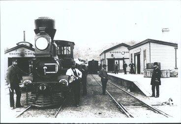 Image: Companys locomotive etc, Corney Bisset, J Frazer, G Clark, H Cornish, S W H McKenzie