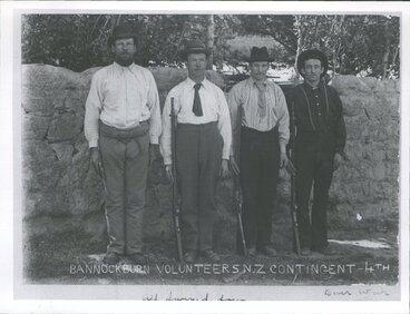 Image: Volunteers - Boer War Contingent