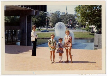 Image: Ferrier Fountain - January 1974