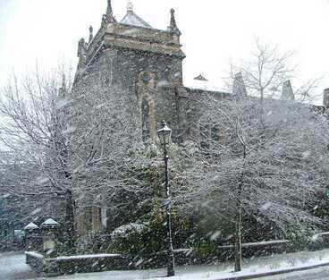Image: Snow, Chester Street West, 2005