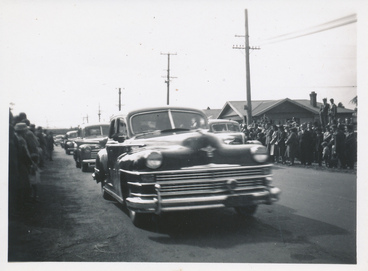 Image: Funeral procession for the Ballantynes Fire Victims
