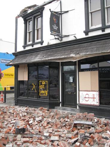 Image: Caxton Press, 13 Victoria Street September 2010