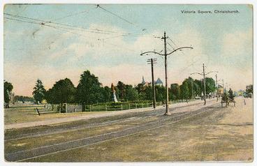 Image: Victoria Square, Christchurch