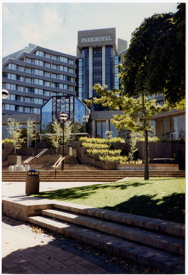 Image: Park Royal Hotel, from Victoria Square, 1996.