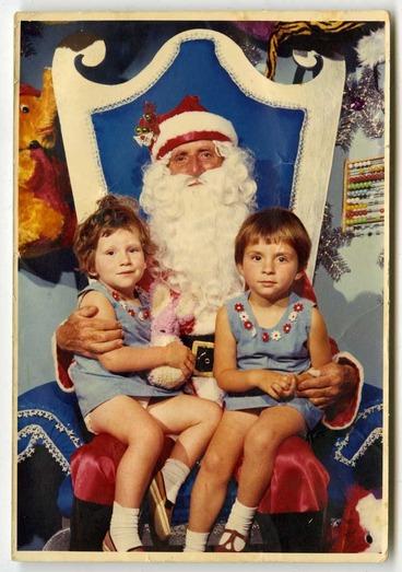 Image: The Annual Santa Photo.