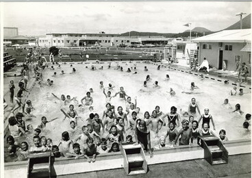 Image: School Holiday Fun At The Pool 1966