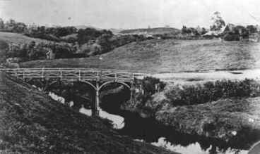 Image: 1849 Henui Bridge - About 1875