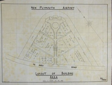 Image: Bell Block Airport Layout
