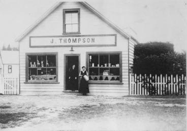 Image: Thompson's Store, Darfield, circa 1914-1918