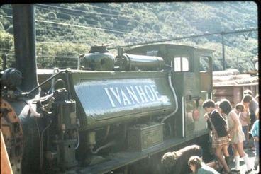 Image: Ivanhoe steam engine