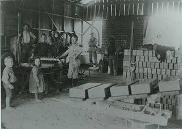 Image: BCI 12 Brickyard in McCullum St, 1890