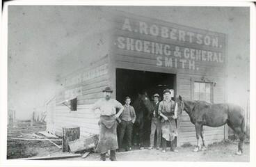 Image: A. Robertson : Blacksmiths