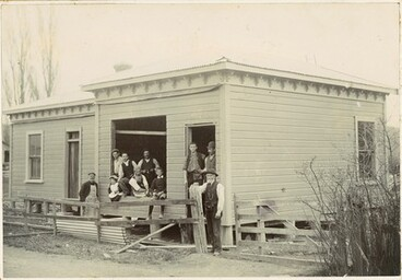Image: James Thomas Boot shop - building of