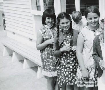 Image: Group of Wakefield School Girls, 1969