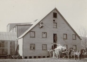 Image: Trapnell's Flour Mill, Brightwater, early 1900s