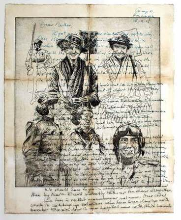 Image: Letters to Mother
