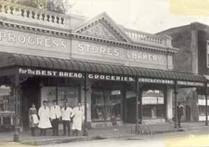 Image: Progress Stores & Bakery, High Street, Rangiora