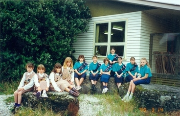 Image: Haast Brownies and Girl Guides