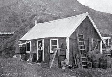Image: The original Waiau Ferry Hotel, North Canterbury
