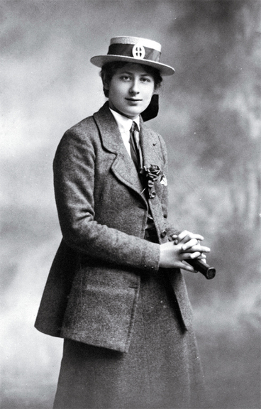 Image: Mounted photograph by Standish and Preece of Ngaio Marsh (school prefect) in her St. Margaret's College school uniform