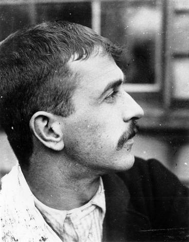 Image: A profile photograph of a man