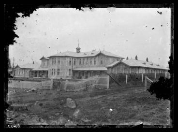 Image: [Exterior View of Avondale Lunatic Asylum  hospital building]